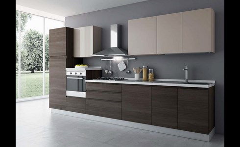 Best Cucine Moderne A Parete Pictures - Ideas & Design 2017 ...